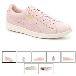 Puma Vikky sneakers in blush